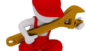 Отсутствие разводного ключа, беда для сантехника