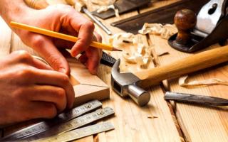 Ручной инструмент плотника-столяра